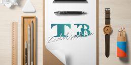 Logo gemaakt door Jerns Creative Studio voor TB Zadelservice